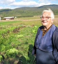Baka Ana and her garden